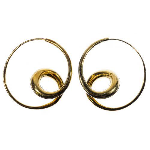 Michael Good 18k Gold Pierced Earrings