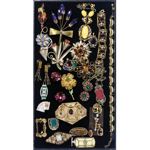 Costume Jewelry and Pocket Watch Assortment