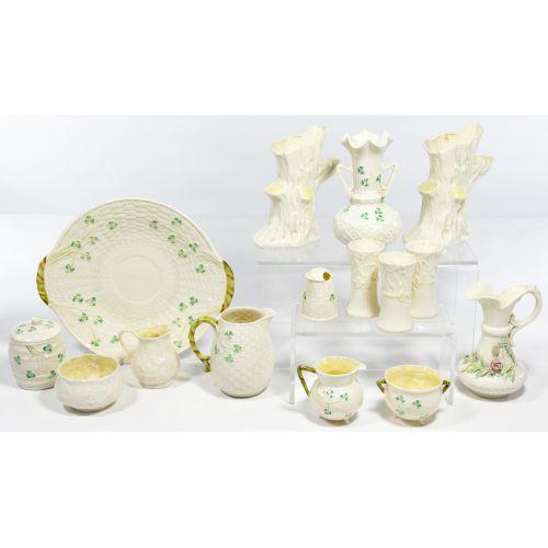 Irish Belleek Porcelain Assortment