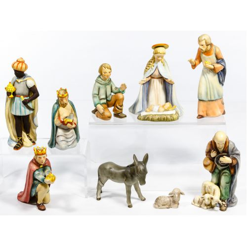 "Hummel ""Nativity"" Figurine Assortment"