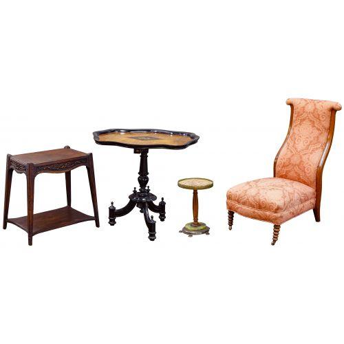 Victorian Furniture Assortment