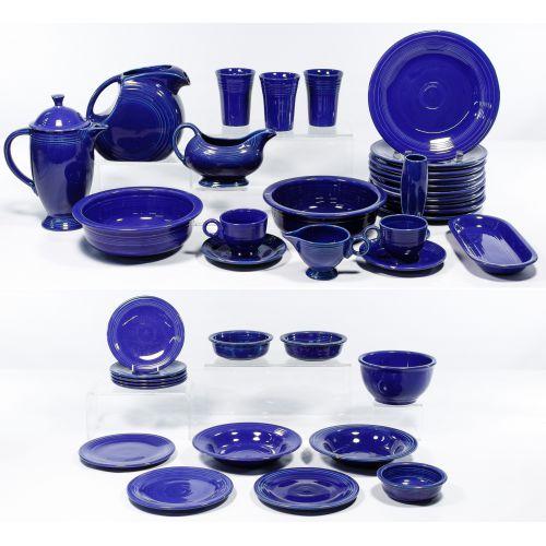 """Homer Laughlin Fiestaware """"Cobalt Blue"""" Collection"""