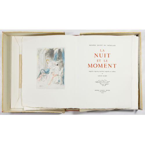"""Louis Icart (French, 1888-1950) """"La Nuit et Le Moment"""" Book"""