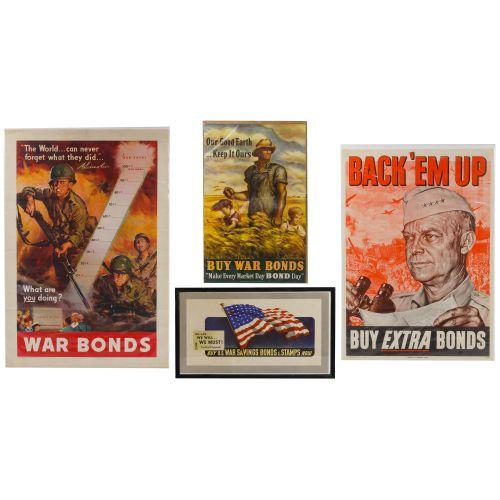 World War II US War Bond Posters