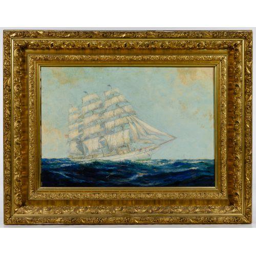 Frederick Leo Hunter (American, 1858–1943) Oil on Canvas