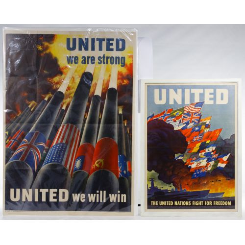 World War II United Nations War Posters