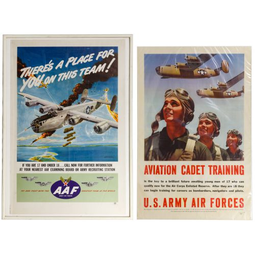 World War II US Army Air Force Recruiting Posters