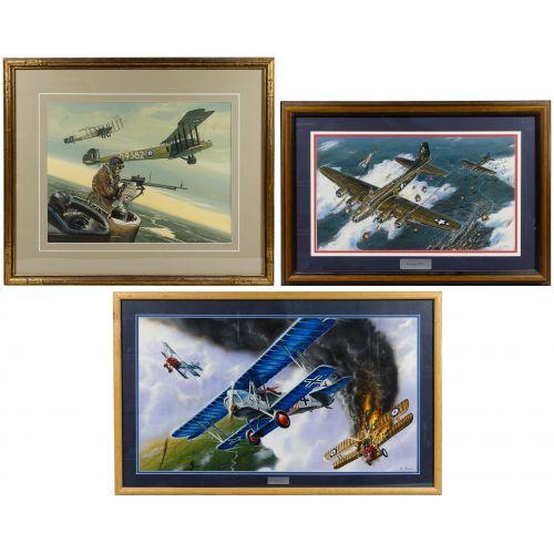 Various Artists (European, 20th Century) Painting Assortment