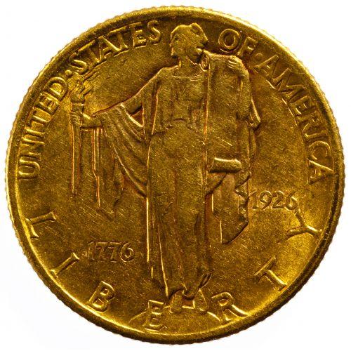 1926 $2 1/2 Gold Sesquicentennial