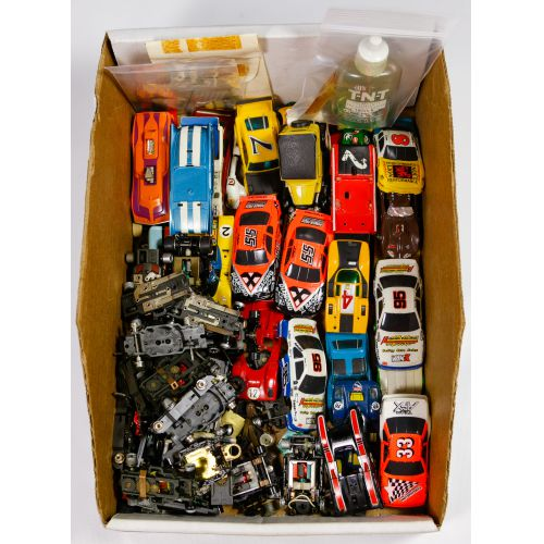 Slot Car, Body and Under Carriage Assortment