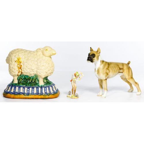 Pottery Figurine Assortment