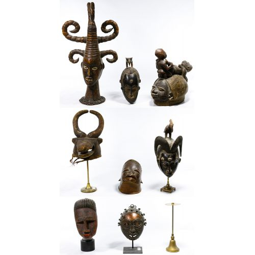 African Tribal Mask Assortment