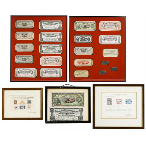 World: Currency and Stamp Exhibition Assortment