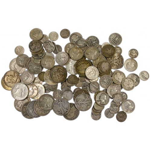 US Miscellaneous Silver Coin Assortment