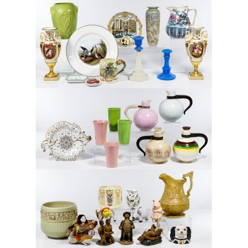 Pottery and Porcelain Assortment