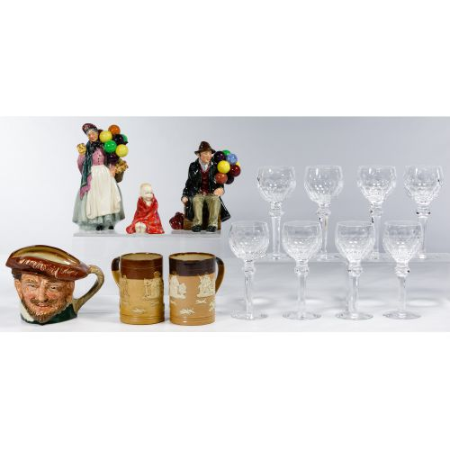 Waterford Crystal and Royal Doulton Assortment