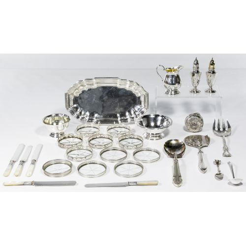 Sterling Silver Hollowware and Flatware Assortment