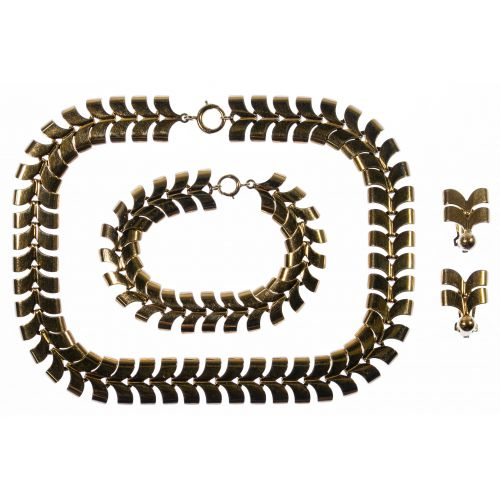14k Gold Jewelry Suite