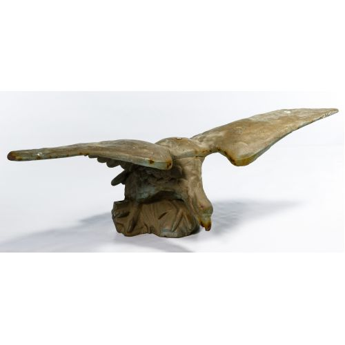 Eagle Cast Iron Statue