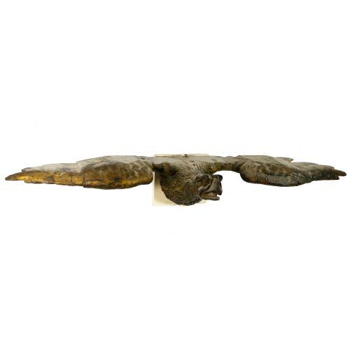 Eagle Carved Wood Statue