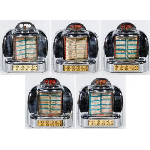 Seeberg Tabletop Juke Box Assortment