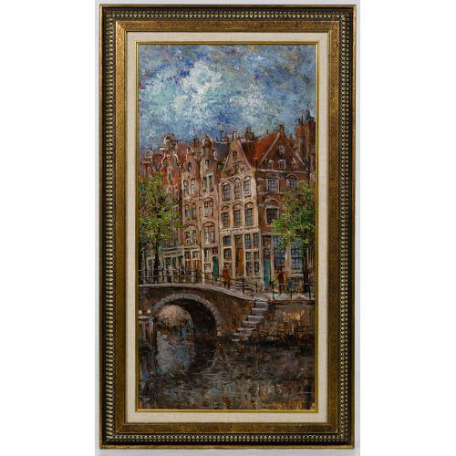 Walthere Joseph Neuhof (Dutch, 1904-1984) Oil on Canvas
