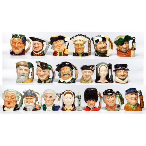 Royal Doulton Toby Mug Assortment