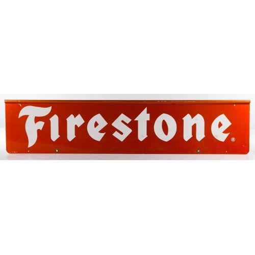 Firestone Metal Advertising Sign