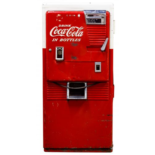 Coca-Cola 42-Bottle Vending Machine