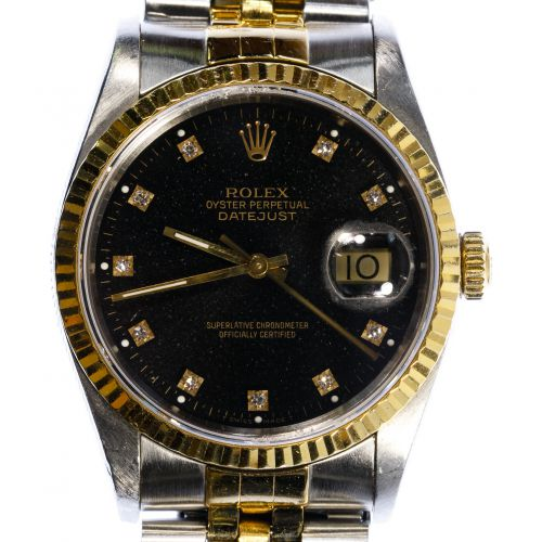 Rolex 14k Gold and Stainless Steel Wrist Watch