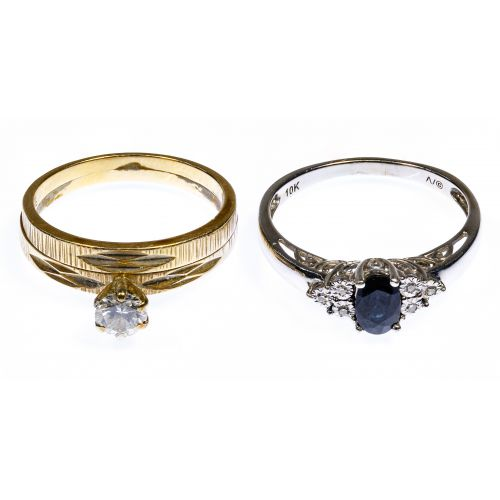 14k Gold and 10k Gold Rings