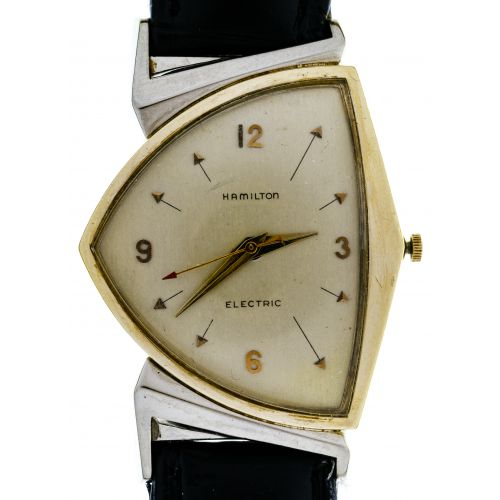 Hamilton 10k Gold Filled Electric Wrist Watch