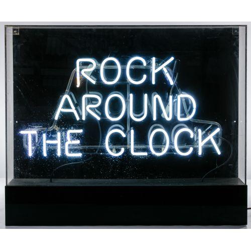 """Rock Around The Clock"" Neon Sign"