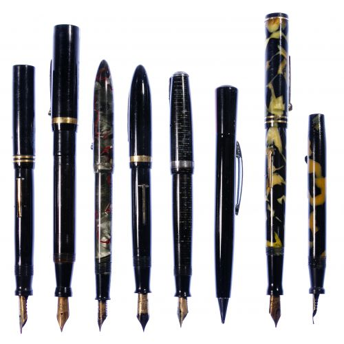 Fountain Pen and Mechanical Pencil Assortment