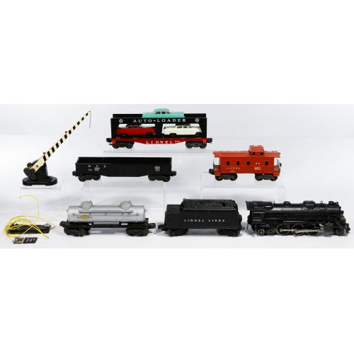 Lionel and HO Model Train and Aurora Model Motoring Assortment