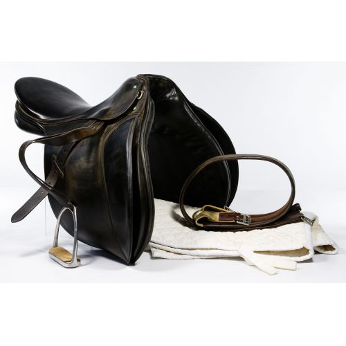 Passier & Sohn Leather Dressage Saddle and Pad