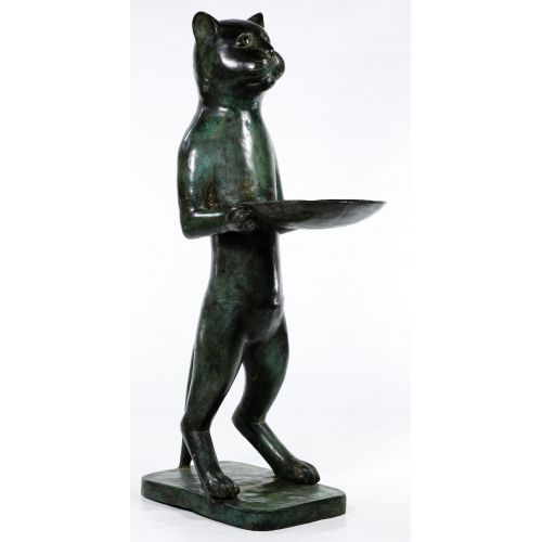 Cat Butler Sculpture
