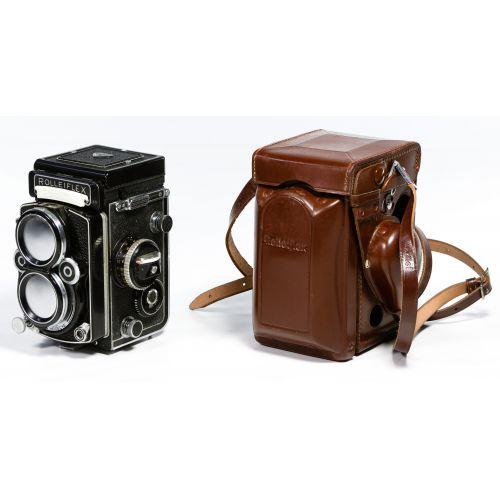 Rolleiflex DBP DBGM Synchro Compur Franke & Heidecke Camera