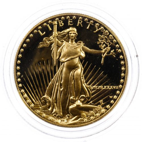 1987-W $50 Gold Proof American Eagle