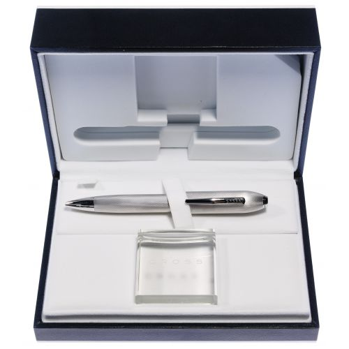 "Cross Platinum Plate ""Peerless 125"" Ball Point Pen"