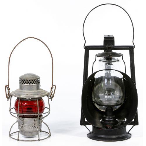 Railroad Lantern, Lock and Watch Assortment