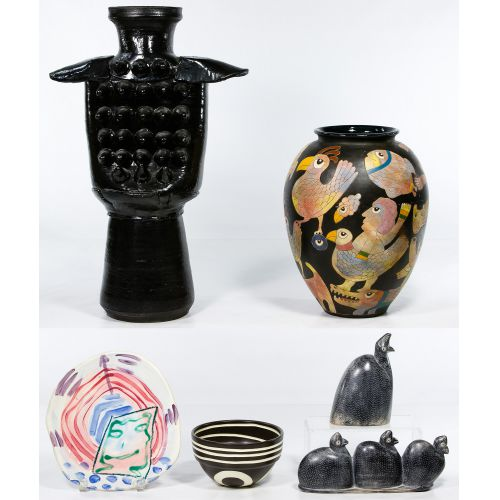 Pottery and Stone Assortment