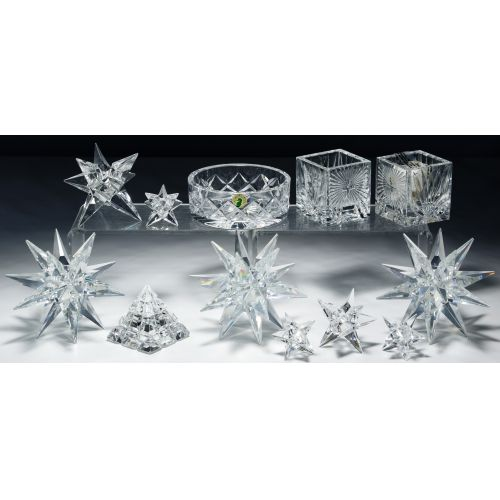 Waterford and Swarovski Crystal Assortment