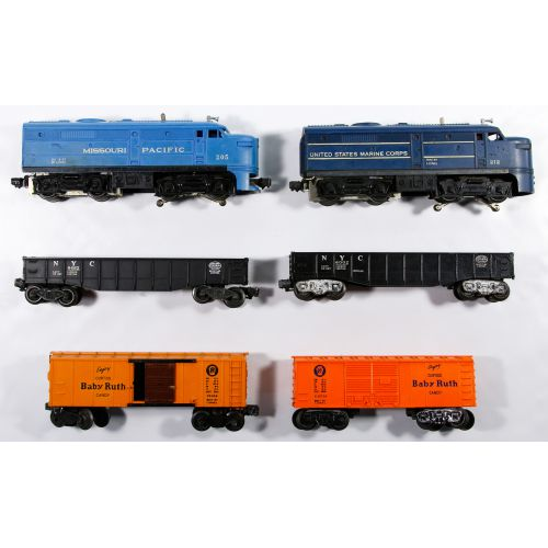 Lionel Model Train Assortment