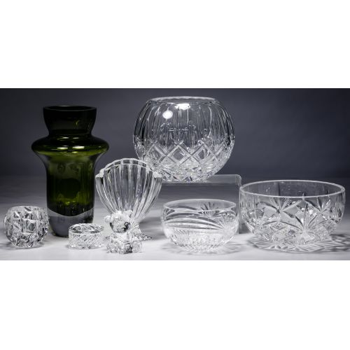 Waterford, Tiffany and Gorham Crystal Assortment