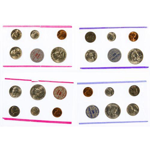 1959-1964 Mint Set Assortment