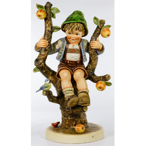 """Hummel #142 / X """"Apple Tree Boy"""" Jumbo Figurine"""