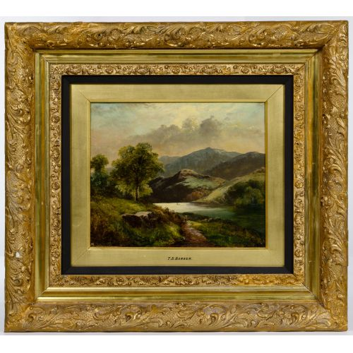 Thomas Stanley Barber (British, fl.1891-1899) Oil on Canvas