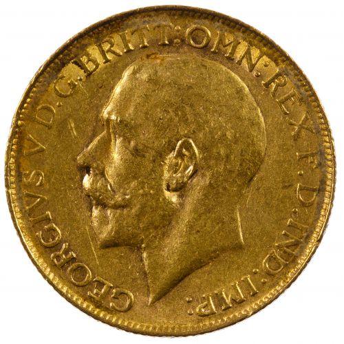 England: 1919 Gold Sovereign