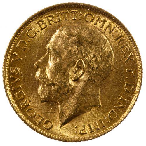 England: 1915 Gold Sovereign